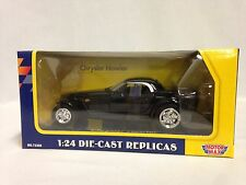 "Chrysler Howler, 8.5"" Diecast 1:24 Scale Replicas By MotorMax Toys, Color Black"