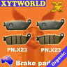 FRONT Brake Pads for Honda PC 800 Pacific Coast 1989-1997