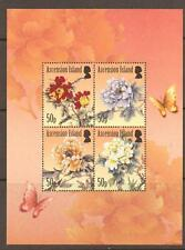 ASCENSION SGMS1108 2011 THE PEONY SHEET MNH