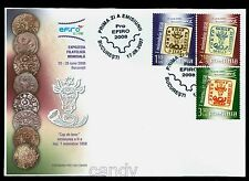 2007 Old Coins,Münze,EFIRO,Bull head,Wisent head,Classic stamps,Romania,6231,FDC