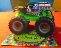 Hot Wheels Monster Jam Grave Digger Monster Truck 1:64 Scale Die-Cast Ages 3+