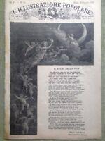 L'illustrazione Popolare 30 Dicembre 1883 Giacomo Di Chirico Firenze Natale Roma