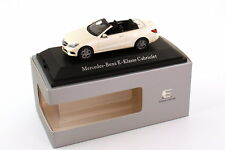 KYOSHO 2013 MERCEDES BENZ E CLASS CABRIO DIAMOND WHITE (DEALER) 1:43 RARE!