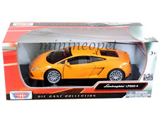 MOTORMAX 73362 LAMBORGHINI GALLARDO LP560-4 1/24 DIECAST MODEL CAR ORANGE