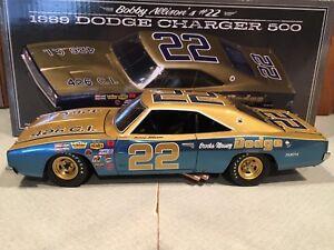 University of Racing 1969 Bobby Allison #22 Brooks Massey Dodge Charger 500 1/24