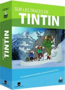 Sur les Traces de Tintin - Coffret 5 DVD - Moulinsart - 2011 - TTBE