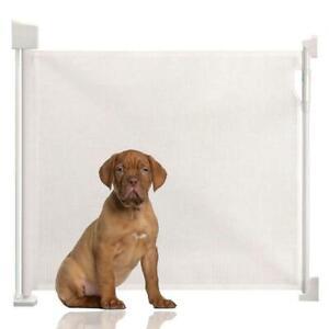 Safetots Advanced Retractable Dog Gate Wide Pet Gate extra wide Indoor Barrier