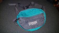 Jansport Fanny Pack Vintage 90s Green Adjustable Usa Made