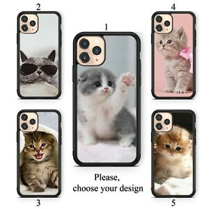 Lovely kittens case for Galaxy Note 10 9 8 and Google Pixel 4 3 3a XL TPU SN