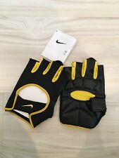 NIKE Men's Lightweight Cycling Gloves Color Black/Varsity Maize Size XXL/2XL New