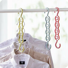 Multi Function Clothes Hangers Saving Space Closet Organizer Magic Wonder Rack