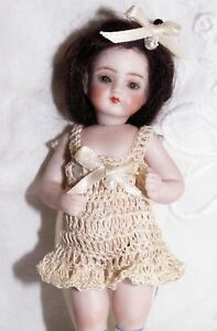 French Mignonette Doll Chemi Pantalettes Lingerie for 4 - 5 Inch All Bisque Doll