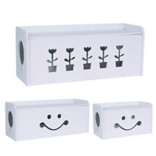 Cable Wire Storage Management Box Power Strip Cord Outlet Safety Organizer Case
