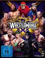 WWE Wrestlemania 30 XXX 2014 3er [DVD] + HALL OF FAME CEREMONY NEW GERMAN