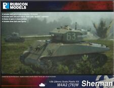 Bolt Action Rubicon Models US M4A2(76)W Sherman 1/56 scale (28mm) New!