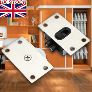 Household Door Rollers Sliding Wheel Cupboard Wardrobe Furniture/Hardware UK