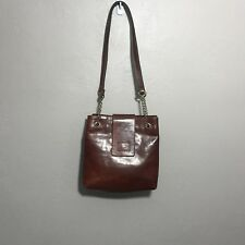 Vintage Classic Sport 2000 International Brown Leather Handbag Purse Tote Bag