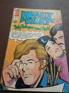 Romantic Story #123 1972 Flying High 4.0 VG