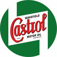 50x50cm Castrol Youngtimer Tuning Racing STICKER AUFKLEBER - Gasoline USA