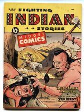 Midget Comics #1 1950 St. John-Matt Baker-Western-Rare! FN/VF