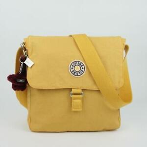 KIPLING COLBY Shoulder Messenger Crossbody Bag Solar Yellow Varsity