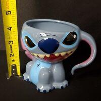 Disney Parks Stitch Sculpted Figural Ceramic Coffee Mug New Walt Disney World