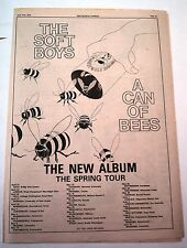 SOFT BOYS Can Of Bees spring tour 1979 UK Poster size Press ADVERT 16x12 inches