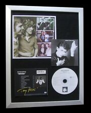 TONY VISCONTI+DAVID BOWIE+SIGNED+FRAMED+HEROES=100% GENUINE+EXPRESS+GLOBAL SHIP