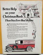 1927 REO Speed Wagon Truck Sales Brochure Christmas Rush