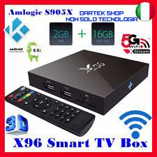 X96 Android S905 2GB 16GB Android 6.0 Marshmallow KODI TV BOX 4K IPTV Decoder