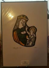 Anthony Gibbs The Fladbury Virgin and Child Signed Limited Edition Print 26/100