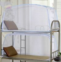 Student Dormitory Bunk Bed Tent Canopy Folding Mosquito Net Camp Bedding Mesh