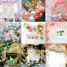 100 pcs Luftballons Girlande Ballonbogen Set Geburtstag Party Hochzeit Deko DE
