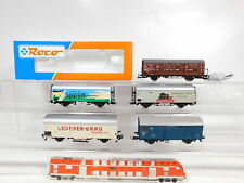 CA944-1 #5x roco H0/Dc Freight Car DB Nem : 47265+ Leather + Spargel etc. , Top
