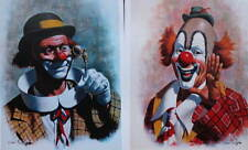 2 Clown prints by Arthur Sarnoff