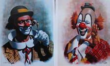 2 Clown prints by Arthur Sarnoff