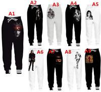 Fashion Cool Casual Men Jogger Trousers Michael Jackson 3D Fitness Sweatpants