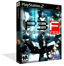 - Persona 3 Replacement Spare Game Case Box + Cover Art Only