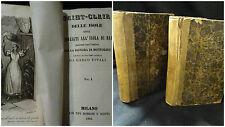 Saint Clair delle isole - Carlo vitali -  Milano Borroni e Scotti 1844