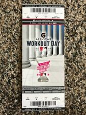 2018 MLB All Star Game TICKET STUB WORKOUT DAY HOME RUN DERBY BRYCE HARPER 7/16
