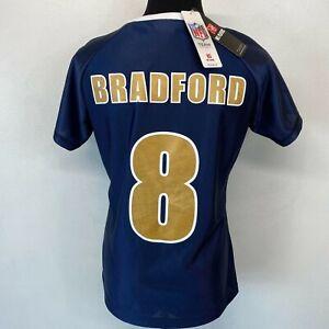 St Louis Rams Football Jersey Womens size S Sam Bradford NWT NOS #8 NFL S10