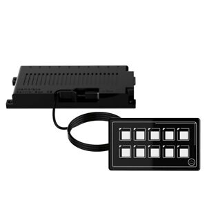 10P Control Switch Panel LED Touch PPTC APP Control SP5110A For Marine Truck Kit