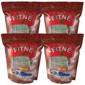 Fitne Herbal Tea Weight Loss Slimming 4x40 Bags Original Diet Detox Bag Infusion