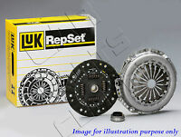 FOR BMW E46 320 D TD 150bhp 01-03 GENUINE LUK CLUTCH COVER DISC BEARING KIT