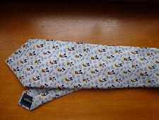 cravate MICKEY Disney collector ( BD, cartoon) fond gris
