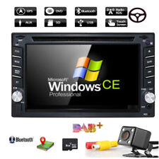 "6.2"" 2DIN Car CD DVD Player Bluetooth Touch Screen Stereo Radio GPS Navi +Camera"