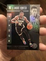2019-20 Panini Illusions De'Andre Hunter RC Rookie Card #181 Black Parallel Rare