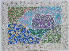 George Chemeche Silkscreen Litho Middle Eastern Iraqi Guggenheim Museum Artist
