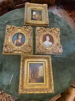 GoLd WOOD FredRix Frame Rococo NeoClassiCaL AntiQue like POrtrait Painting Art
