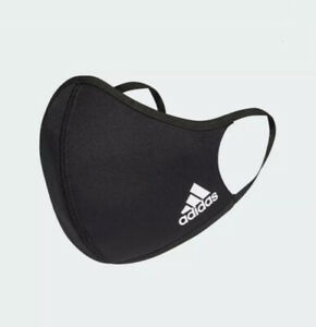 Adidas Single Face Mask Cover Protection Unisex 100% Authentic Child Size Small